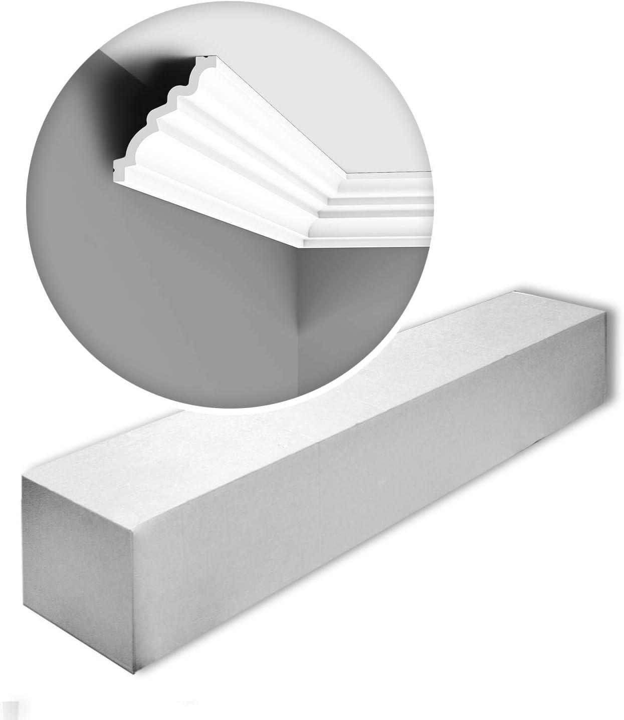 Orac Decor C326-box LUXXUS MANOIR 1 Box 15 Pieces Cornice Moulding 30 m