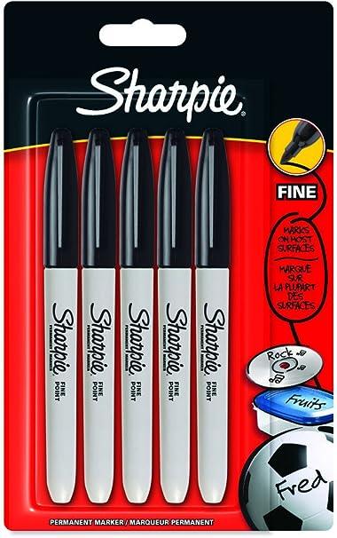 Sharpie - Juego de rotulador indelebles para todo tipo de ...