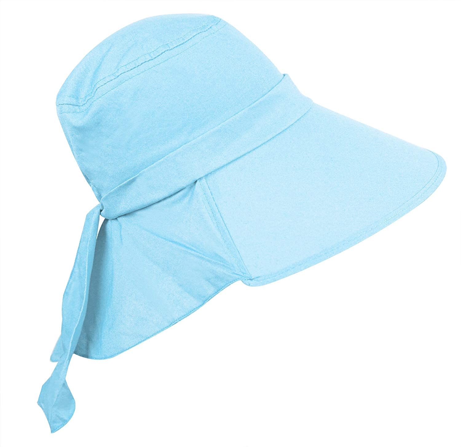 8430bfb6a Bienvenu Ladies Sun Visor Wide Large Brim Swimming Beach Sun Hat ...