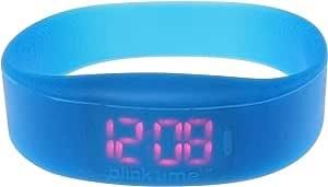يوزو بلينك تايم ساعة رقمية BT002 ، سيليكون ، ازرق