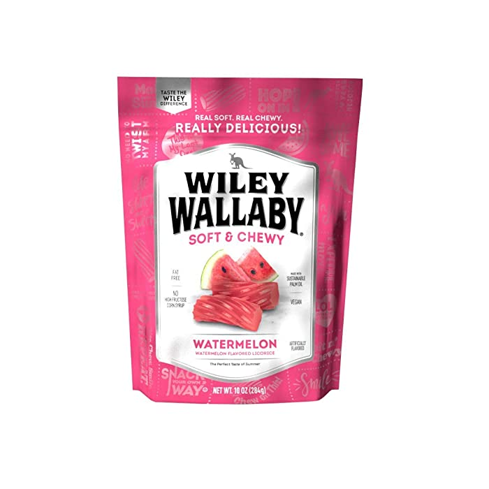 The Best Wiley Wallaby Green Apple Liquorice