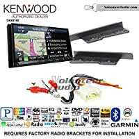 Volunteer Audio Kenwood DNX874S Double Din Radio Install Kit with GPS Navigation Apple CarPlay Android Auto Fits 2003-2009 Toyota 4Runner, 2000-2005 Toyota Celica, 2000-2005 Toyota MR2 Spyder