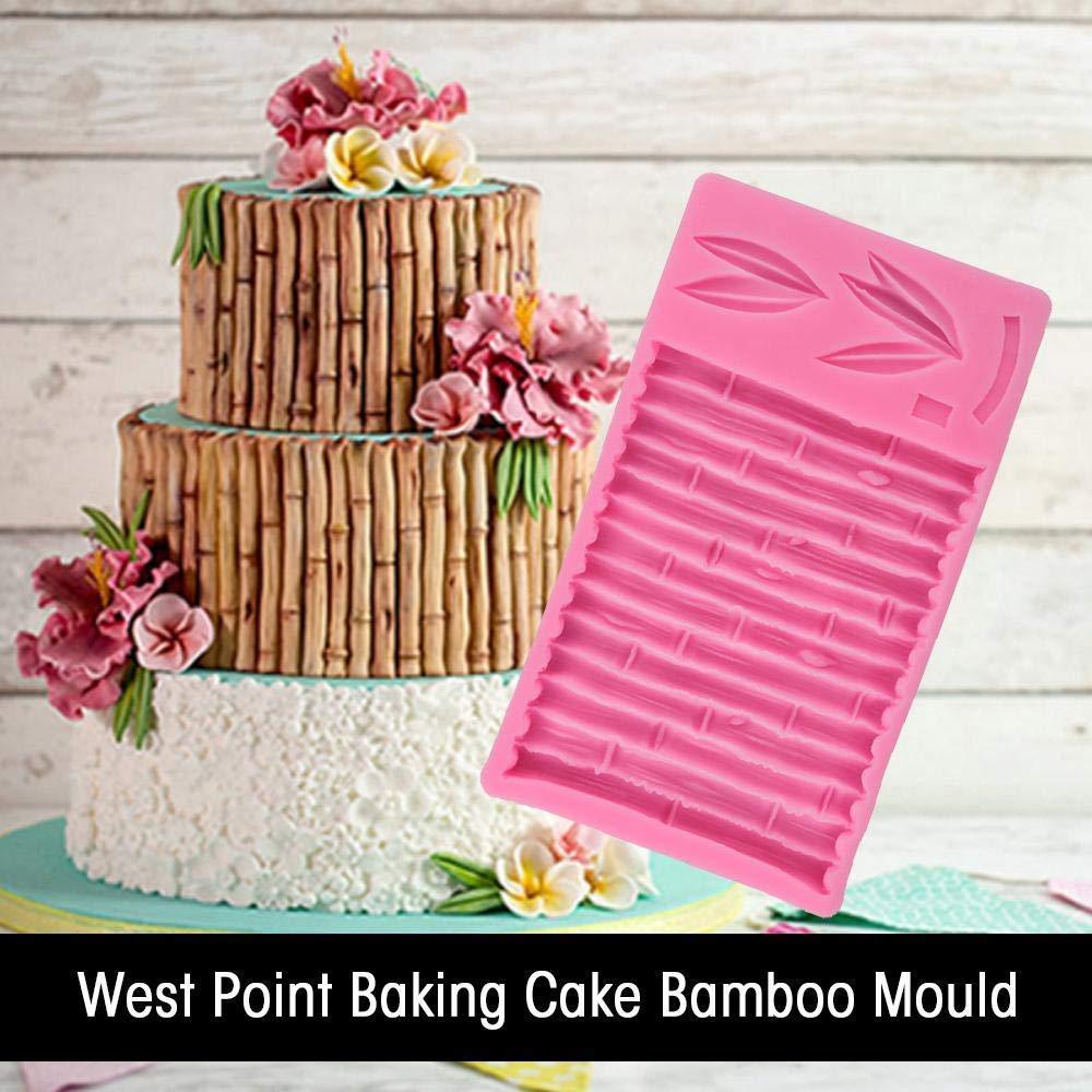 EPRHAY Molde de bambú para Tartas, Pan, Cupcakes, decoración de ...
