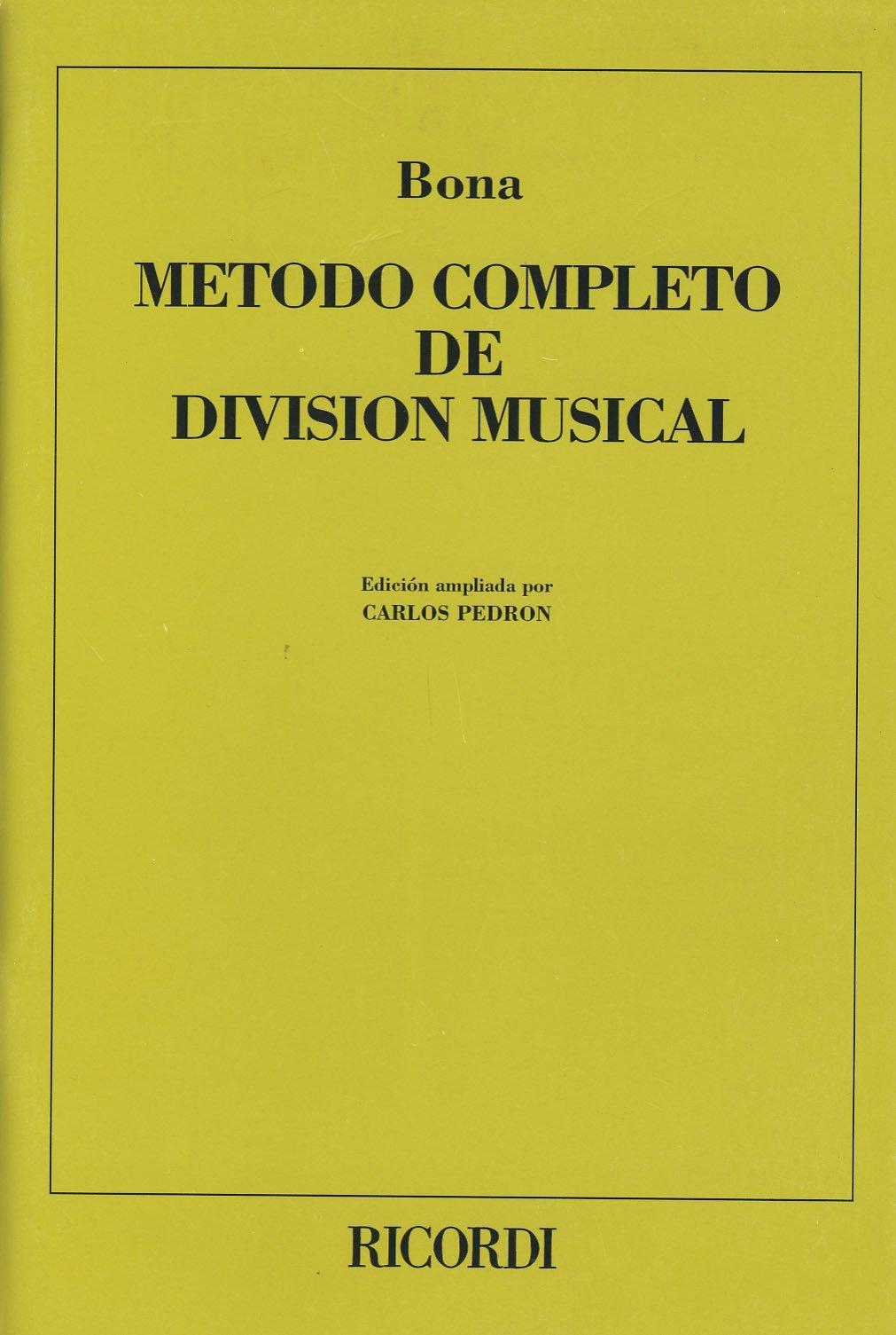 metodo musical bona para