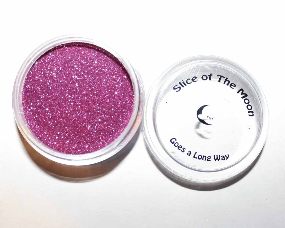 Pink Glitter Powder - Solvent Resistant Glitter Powder 15g – Slice of the Moon