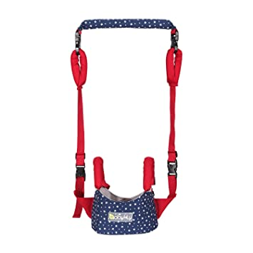 2019-Stars-Blue-Red Toddler Leash Child Safety Harness Fall Protection Handheld Kid Keeper Safety Walking