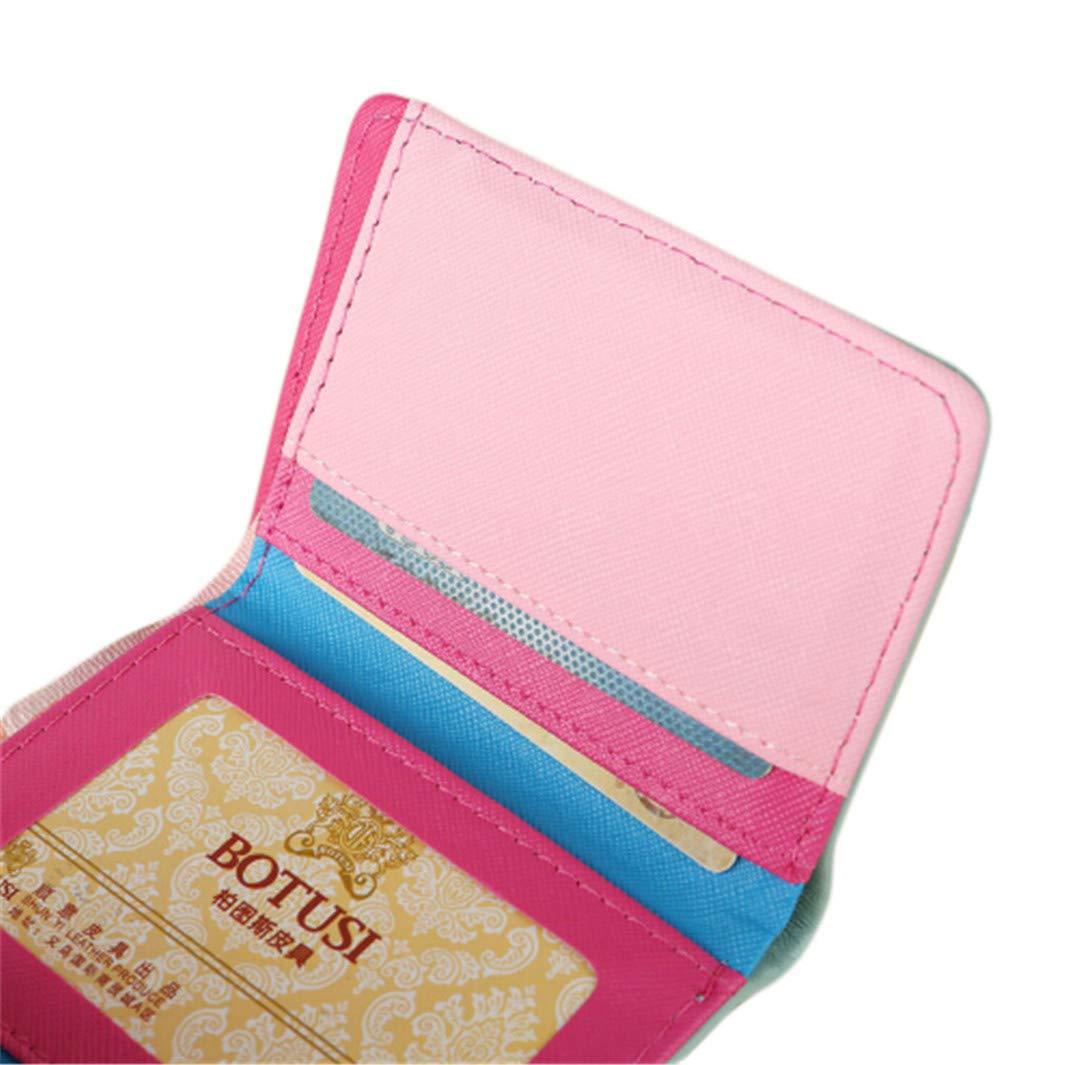 YouCY Folding Bag Clutch Bag Card Holder Evening Bags Handbag For Prom Bride Wedding Cartoon Wallet Women Girls Ladies Coin Purse,Rose Red