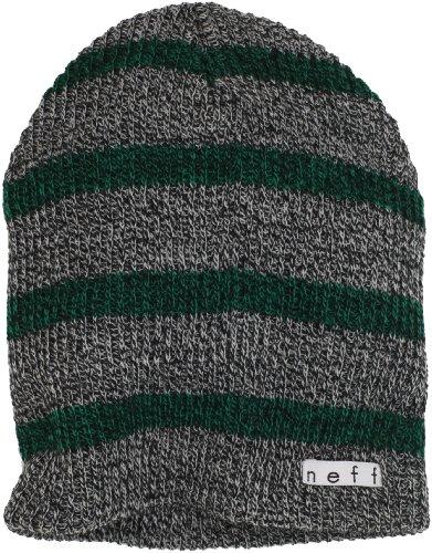 Neff Daily Stripe - Gorro gris / verde