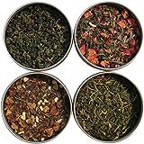 Heavenly Tea Leaves Afternoon Tea Sampler, 4 Bestselling Cans