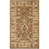 Safavieh Persian Legend Collection PL819A Handmade Traditional Light Green and Beige Wool Area Rug (3' x 5')