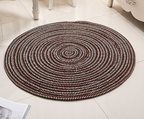 Carpets round cords, pillows, soft flesh pad Carpets Carpets Night Lounge American (Color # 1, Size: Diameter40cm) by DDLANY