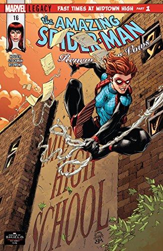 MARVEL//2018 RENEW YOUR VOWS #18 AMAZING SPIDER-MAN RYAN STEGMAN COVER