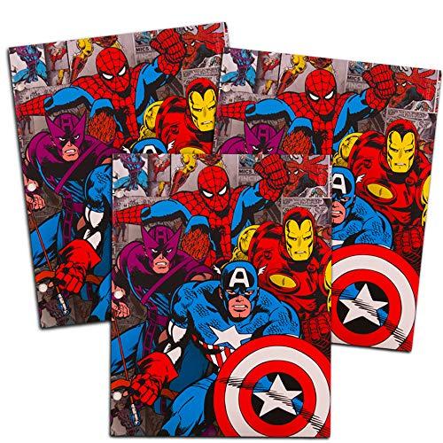 3 Pk. Marvel Comics 2-Pocket Folder (Folder Marvel Comics)