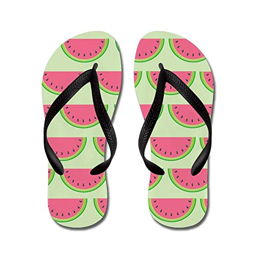 bc103bb36918 CafePress - Watermelon - Flip Flops