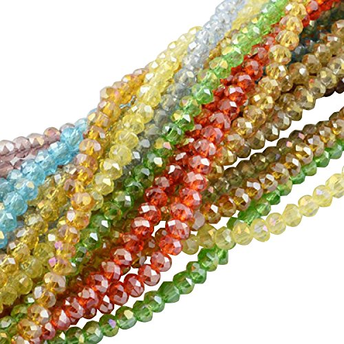 Pandahall Strands Plated Faceted Electroplate