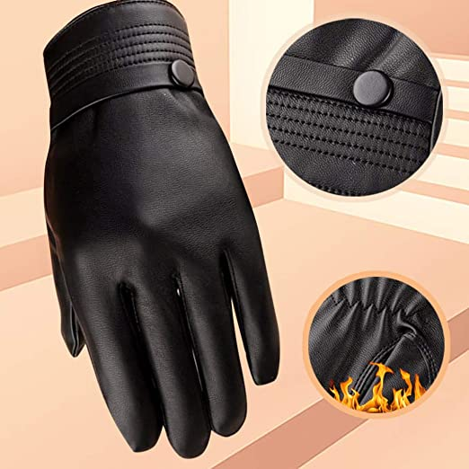 Luxury Mens Winter Cycling Outdoor Touch Screen Warm Sports Gloves Winter Gloves