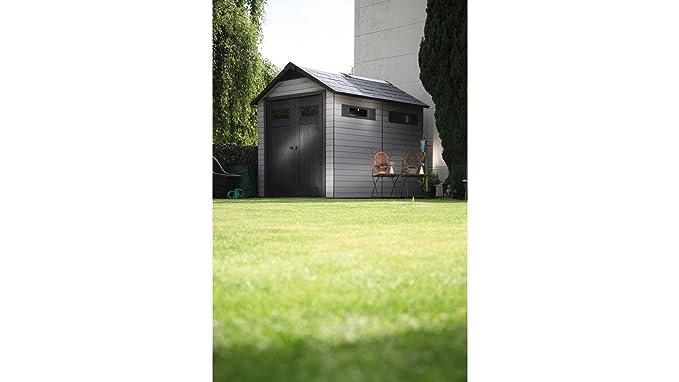 Wolff plástico » WPC Casa Fusion 759 « (BXT: 206 x 269 cm), grau, schwarz: Amazon.es: Jardín