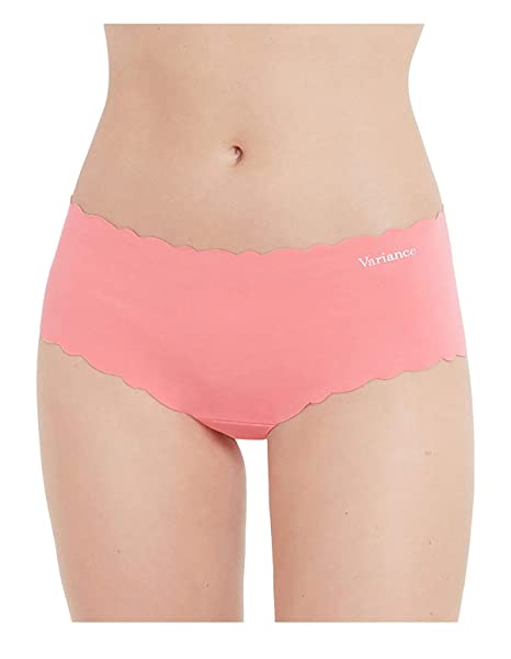 Variance 95705-MJ8 Womens Les Clean Cut Coton White-Pink-Black Solid Colour