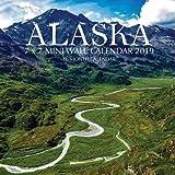 Alaska 7 x 7 Mini Wall Calendar 2019: 16 Month Calendar
