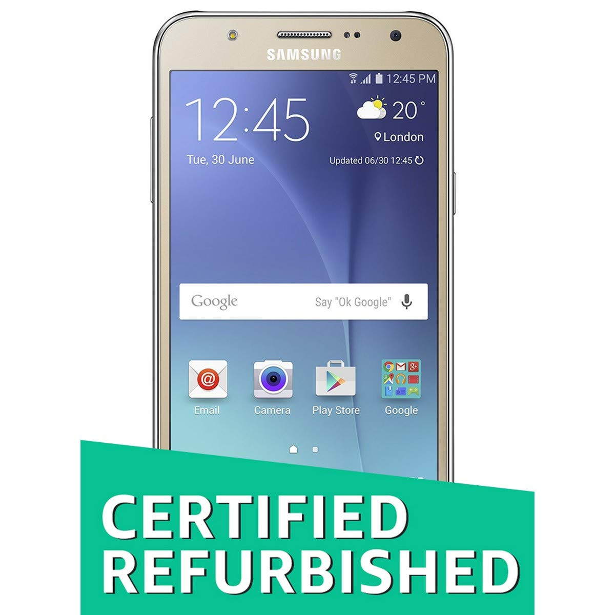 (Certified REFURBISHED) Samsung Galaxy J7 SM-J700F (Gold, 16GB)