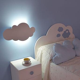 Lampe murale pour enfant Nuage blanc: Amazon.fr: Luminaires et Eclairage