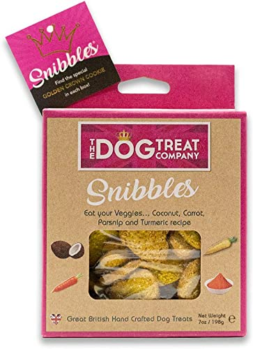 Snibbles Eat Your Veggies – Hand Baked Crunchy All Natural Superfood Dog Treats