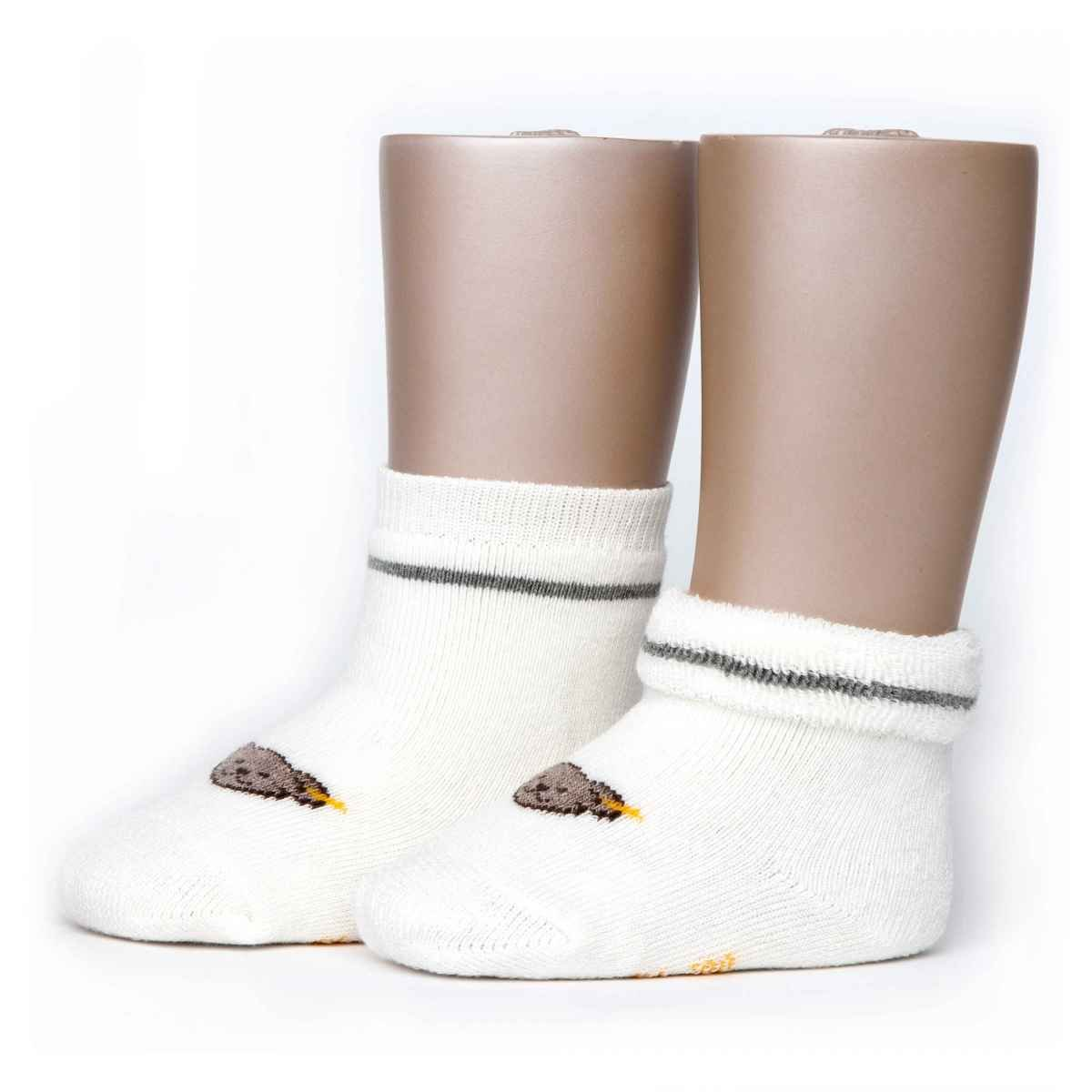 Steiff Baby Jungen Vollfrottee Socken mit Teddy 17113