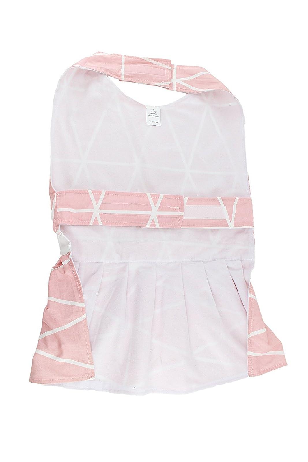 Midlee Pink Geometric Big Dog Dress by (X-Large) XXL - 1