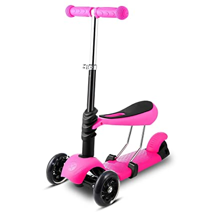 Bluefringe Kick Scooter 3-in-1 for Kids Children Boys Girls Age 3-