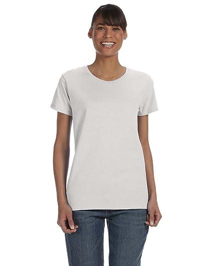 Gildan 5000 Pesado algodón Adultos Camiseta Gris Gris (Ash Grey) Large: Amazon.es: Ropa y accesorios