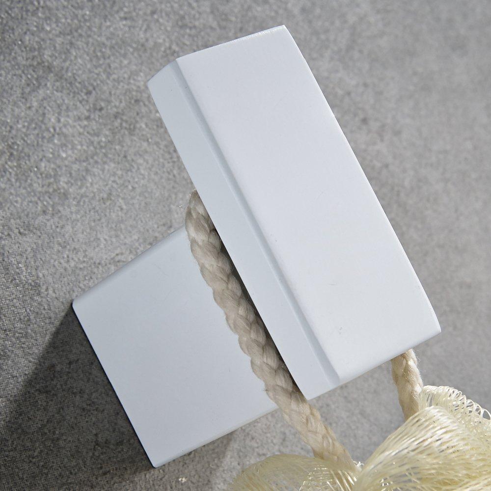 CASEWIND Badezimmer Wei/ß 60cm Handtuchhalter Handtuchregal Handtuchrack Wandmontieren Edelstahl f/ür Dusche Modern Design