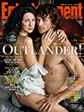 OUTLANDER Caitriona Balfe Sam Heughan ENTERTAINMENT WEEKLY MARCH 2016