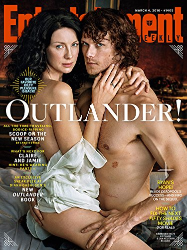 OUTLANDER Caitriona Balfe Sam Heughan ENTERTAINMENT WEEKLY MARCH -