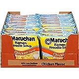 Maruchan Ramen Less Sodium Chicken, 3.0 Oz, Pack of 24