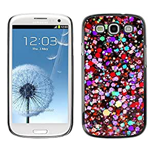Paccase / SLIM PC / Aliminium Casa Carcasa Funda Case Cover para - Colors Vibrant Purple Teal Red - Samsung Galaxy S3 I9300