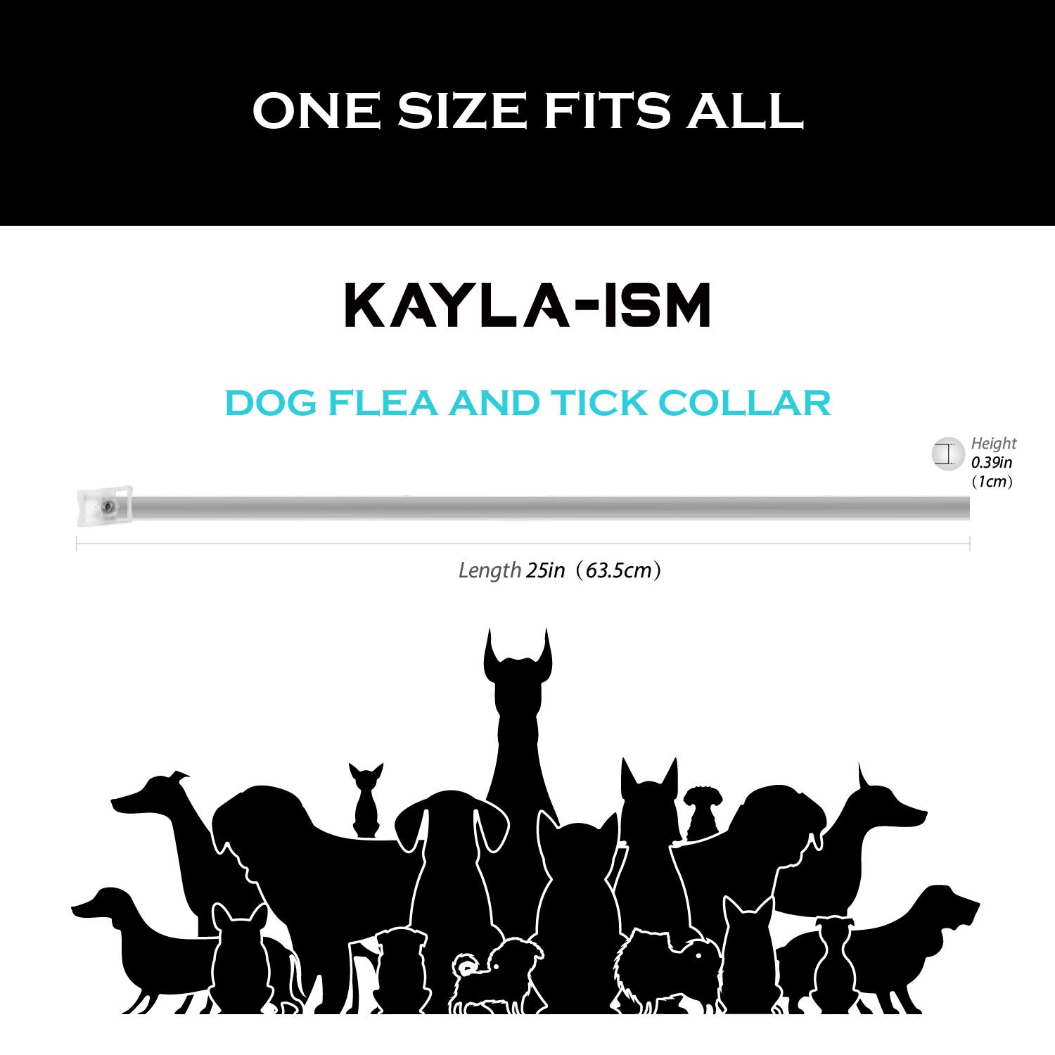 Kayla-ism Dog Flea and Tick Collar, Natural and Essential Oils, Waterproof, One Size Fits All, 8 Months Full Protection, Healthy and Harmless by Kayla-ism (Image #4)