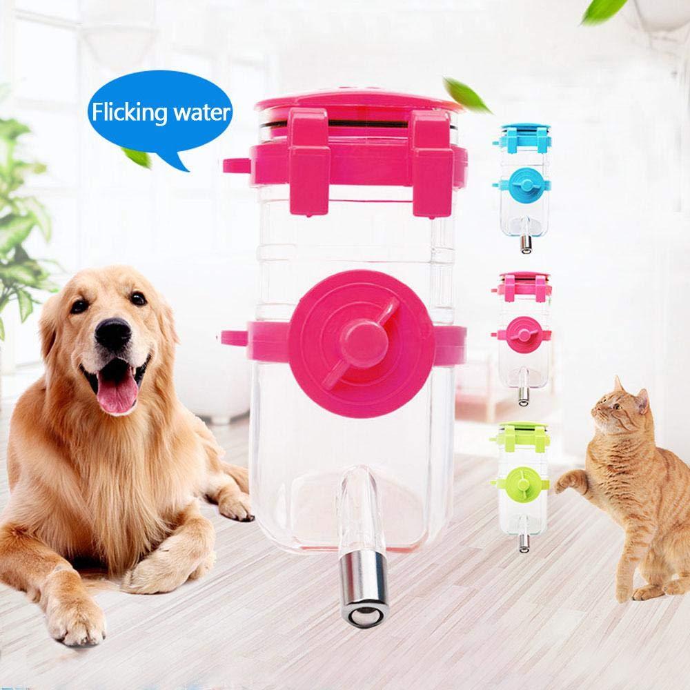 Kobwa - Dispensador de agua automático para perro, sin BPA, apto para mascotas, relleno superior, dispensador de botellas de agua para perros, gatos, ...