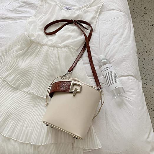 JXD Female Stone pattern Tote Bucket bag leather Women's