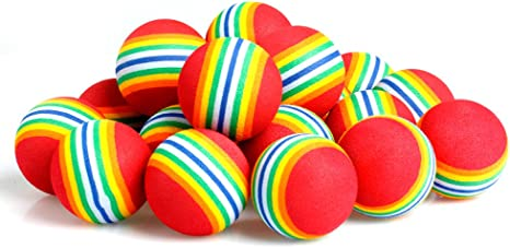 kangnice 20/40/80/100 piezas Rainbow espuma esponja interior ...