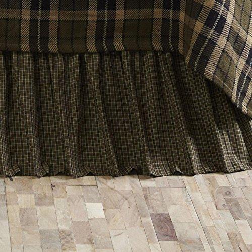 (VHC Brands Tea Cabin Queen Bed Skirt)