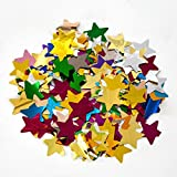 MOKA SFX 10kg Mix Color Confetti Paper Star Shape for Stage Effect Confetti Machine Accessories for Wedding Birthday Party Celebration