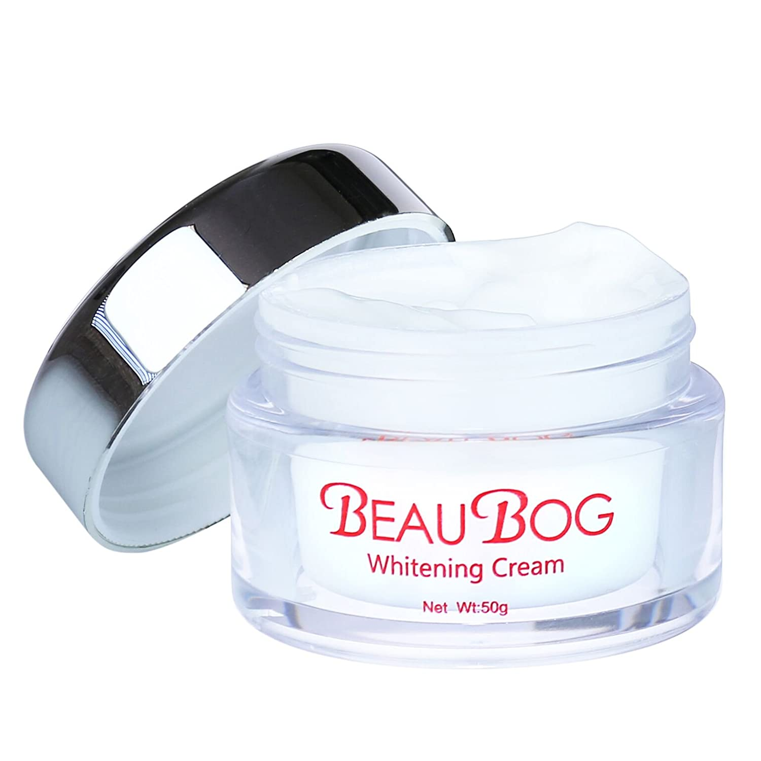 BeauBog(TM) Natural Skin Whitening Cream (Day & Night) Professional Face, Body, Underarm Anti-Aging Treatment, Dark Spot Corrector | Reduce Blemishes, Restore Radiance