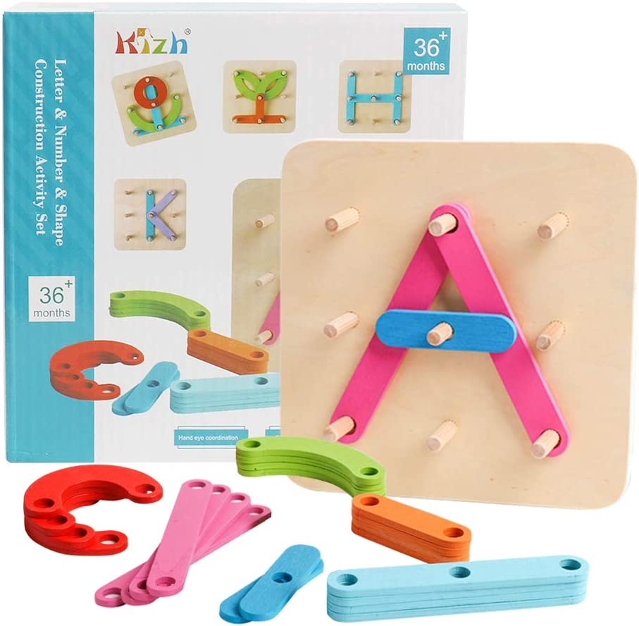 Letter construction set