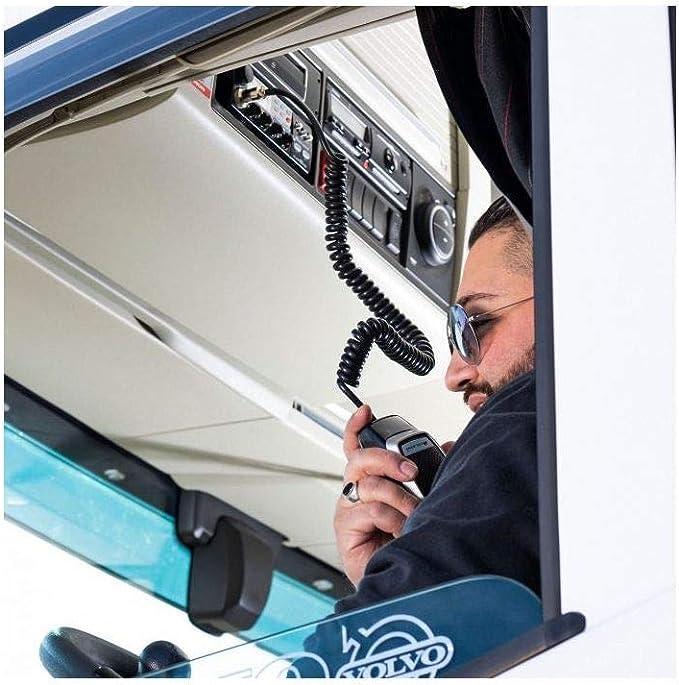 Radio CB Midland Alan 48 Pro con ASQ Digital, Am/FM, Noise Blanker, 12-24V