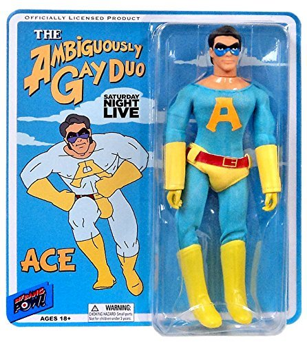 Saturday Night Live The Ambiguously Gay Duo 8 Action Figure Ace by Saturday Night Live