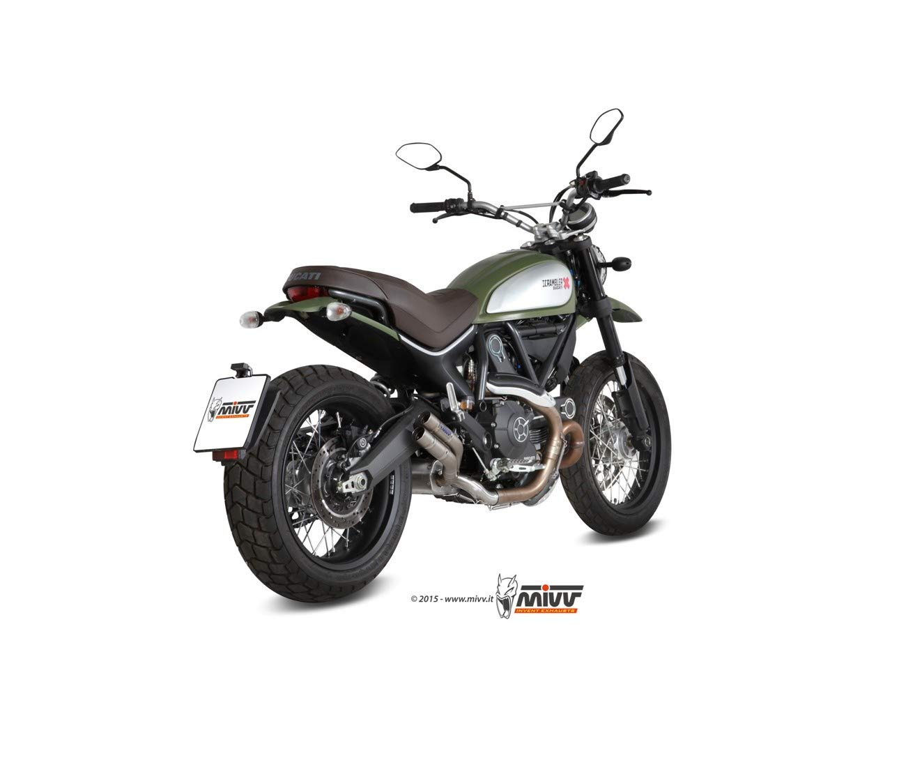 Amazon.com: Pieces Motos AGPL 800 scrambler-15/17-silencieux ...