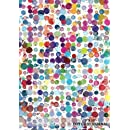 """7""""x 10"""" Dot Grid Journal: Watercolor Spots Cover   Design Book, Work Book, Planner, Dotted Notebook, Bullet Journal, Sketch Book, Math Book, 5mm Dots ... Use   150 pages (Dot paper) (Volume 5)"""