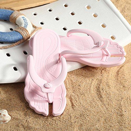 Las Playa Sandalias Rosa Verano De Zapatillas ALIKEEYLos De Moda Mujeres Estilo Zapatillas Viajar Portátil Hombres De De Hqwnf8E