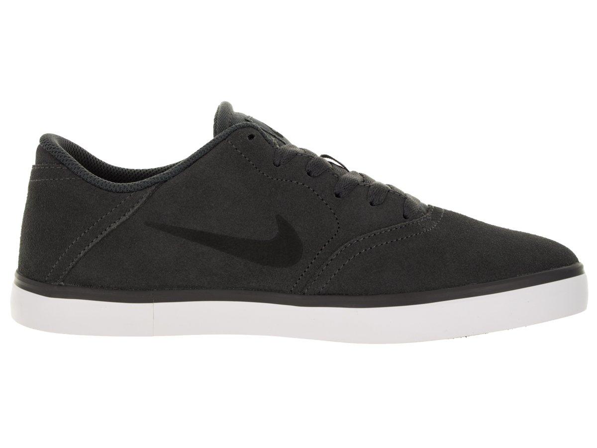Nike Herren SB Check Skaterschuhe  41 EU|Grau / Schwarz / Wei? (Dunkelgrau / Schwarz-wei?)