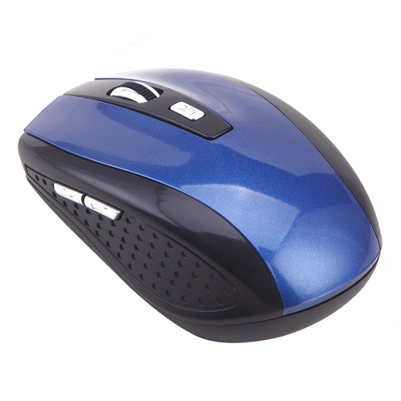 Hde Wireless Optical Computer Mouse 24 Ghz Cordless Usb 24ghz Special Lightweight With Receiver Adjustable Dpi Blue Computers Accessories